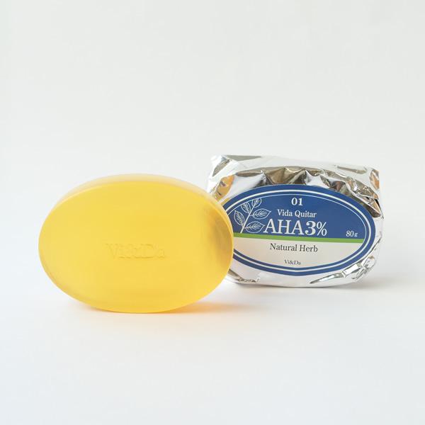 Vida Quiter(ヴィダケタル)AHA4% Natural Herb グリコール酸4% ナチュラルハーブ 80g